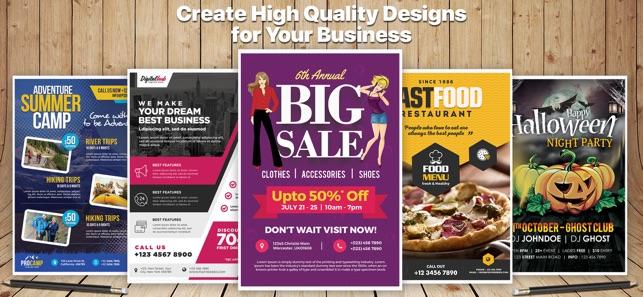 design flyer creator pro on the app store