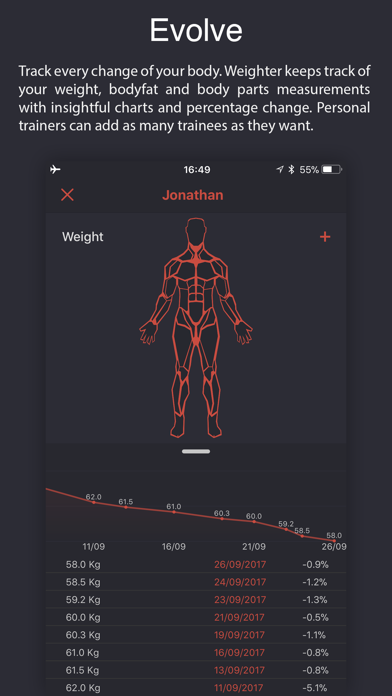 Weighter: Gym notes & progressのおすすめ画像5