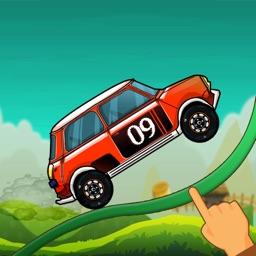 Road Draw : Hill Climb Race