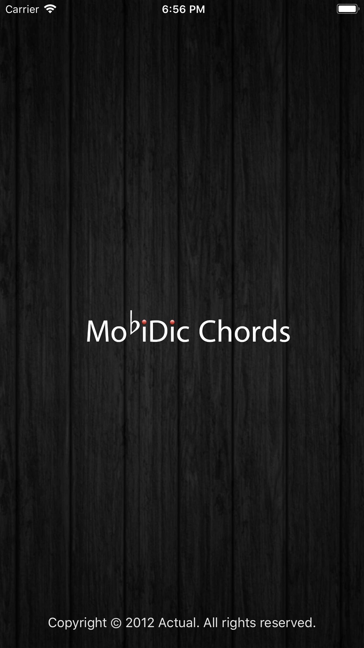 MobiDic - Guitar Chords Screenshot