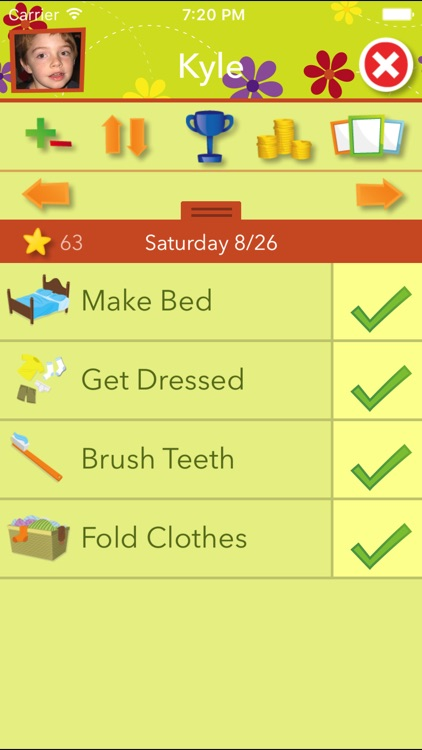 Chore Pad Lite: Chores & Rewards With Themes