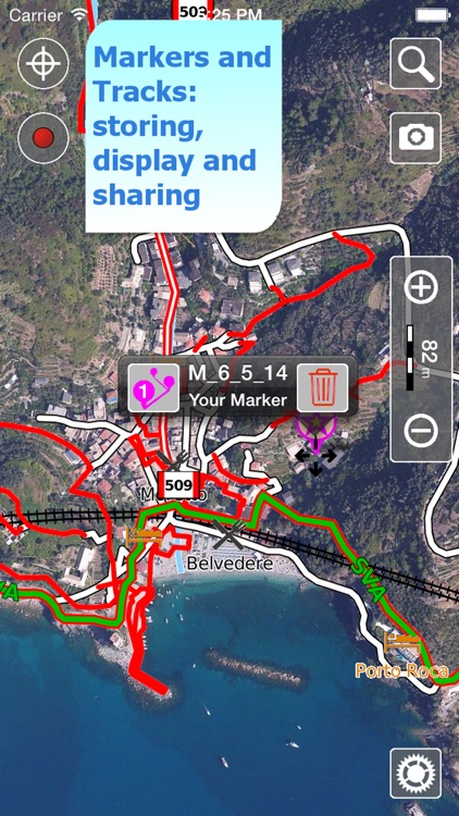 Cinque Terre Trails, Hiker GPS screenshot-3