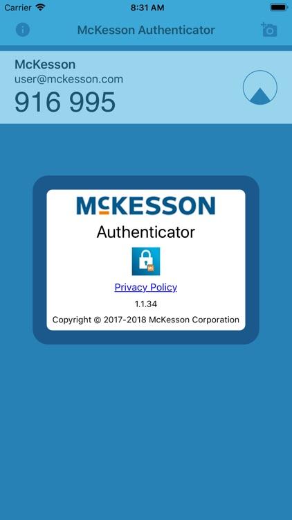 McKesson Authenticator