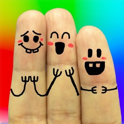Cool Finger Faces - Photo Fun!