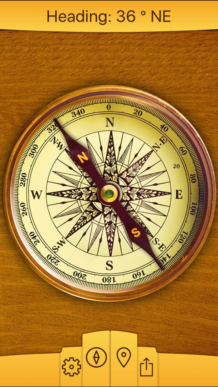 Compass ⊘ Screenshot