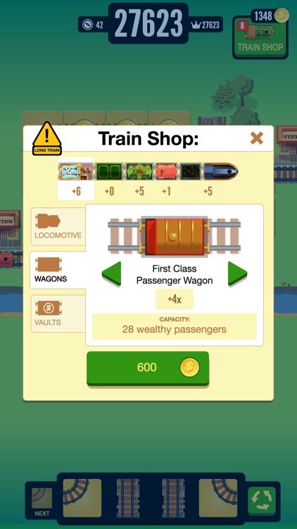 Gold Train FRVR - Railway Maze screenshot-4