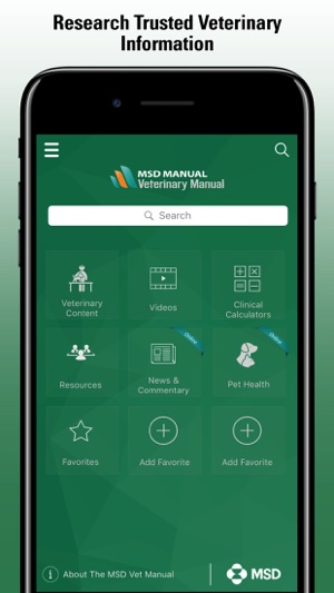 msd vet manual on the app store rh itunes apple com Apple Support Manuals iPad Apple Pad Manual