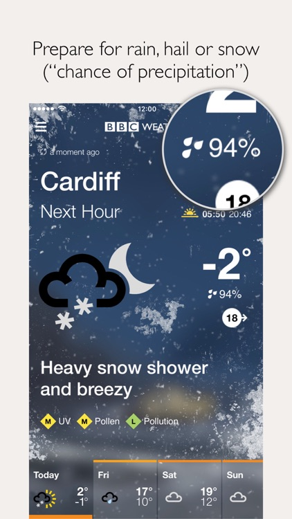 BBC Weather screenshot-3