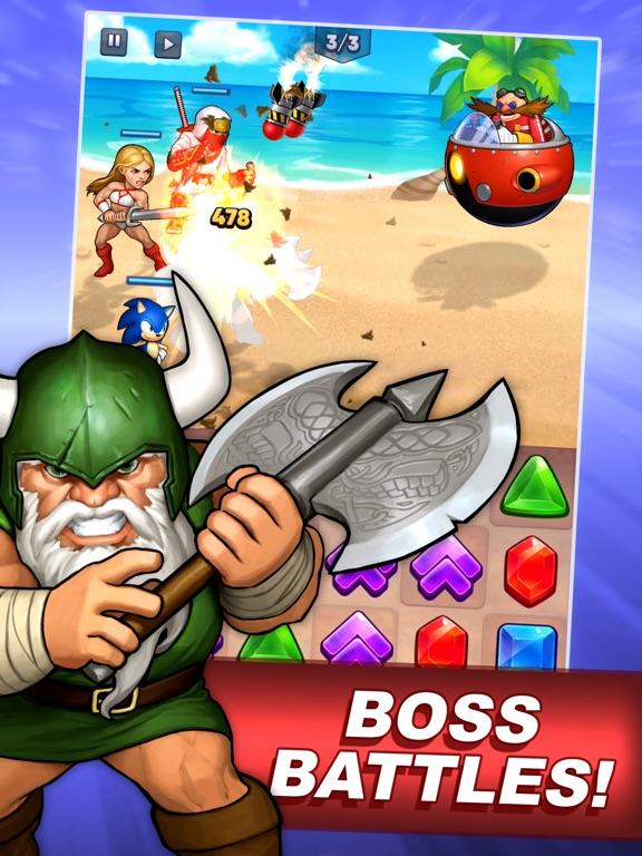 SEGA Heroes: Match 3 RPG Game screenshot 11