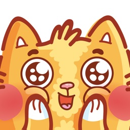 Cat stickers for iMessage!