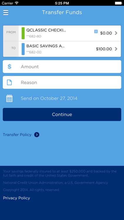 Quorum Mobile Banking screenshot-3