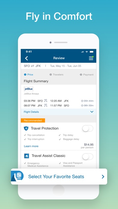 CheapOair: Cheap Flight Deals for Windows