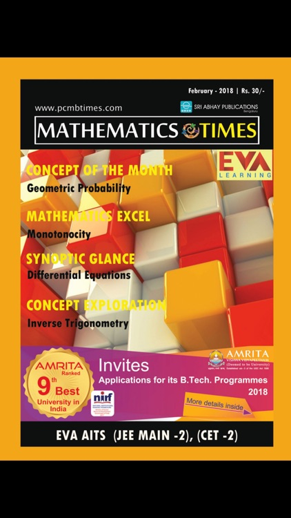 MATHEMATICS TIMES