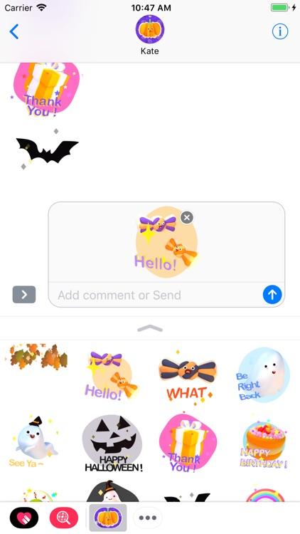 Halloween! Animated Stickers screenshot-3