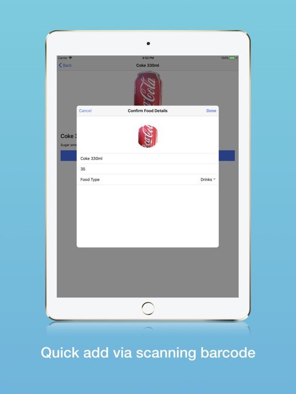 iPad Image of Sans Sugar