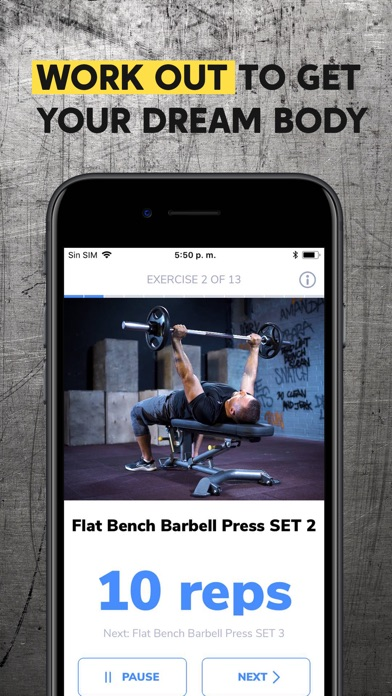 BetterMen: Workout Trainer Screenshot 4