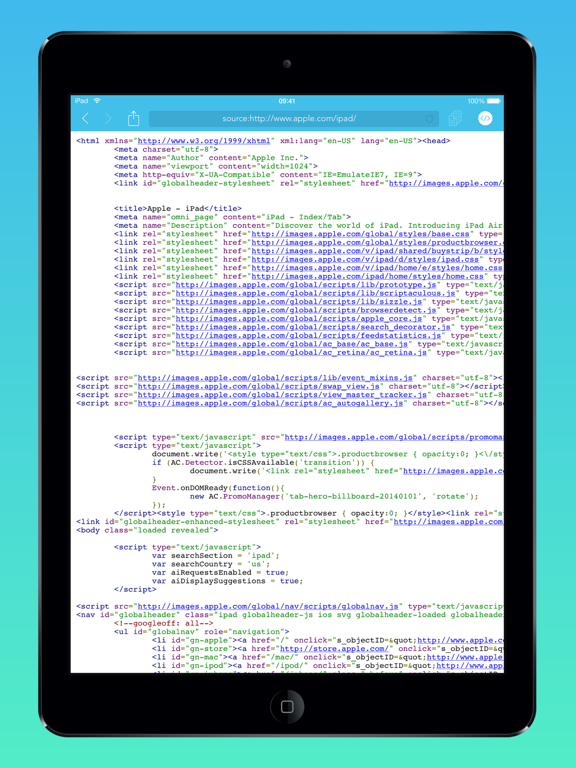 Srcfari: view html source code | App Price Drops