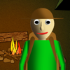 Camping with Baldi's