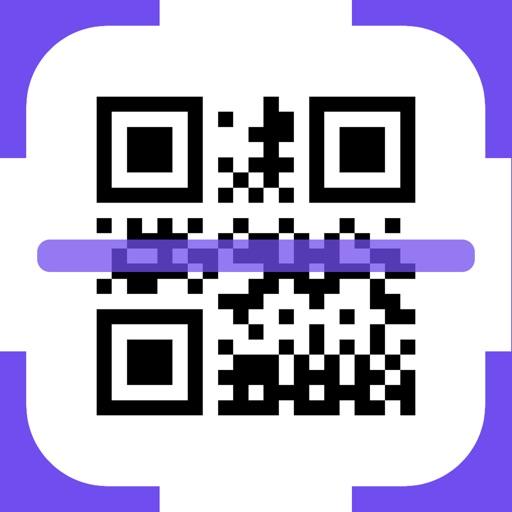 QR Code Reader +. Icon