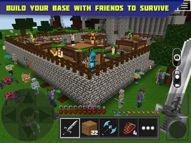 Planet Of Cubes Survival Craft On The App Store - Minecraft spiele arten