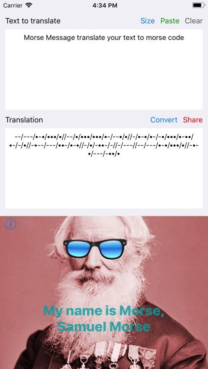 Morse Message