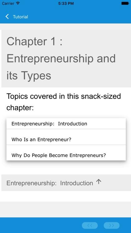 Learn Entrepreneurship screenshot-3