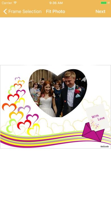 Hochzeit BilderrahmenScreenshot von 3