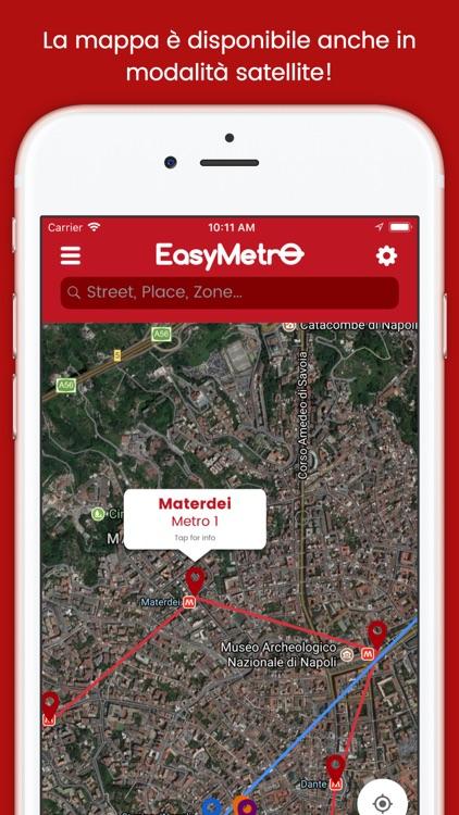 EasyMetro Naples screenshot-4