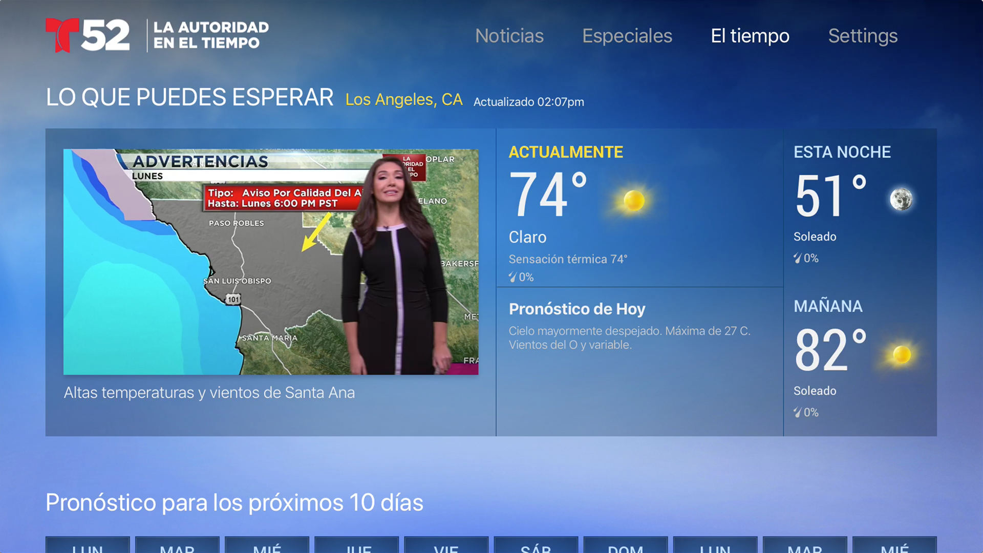 Telemundo 52 screenshot 17