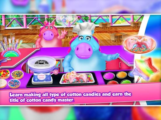 Fat Unicorn Cotton Candy Shop screenshot 8