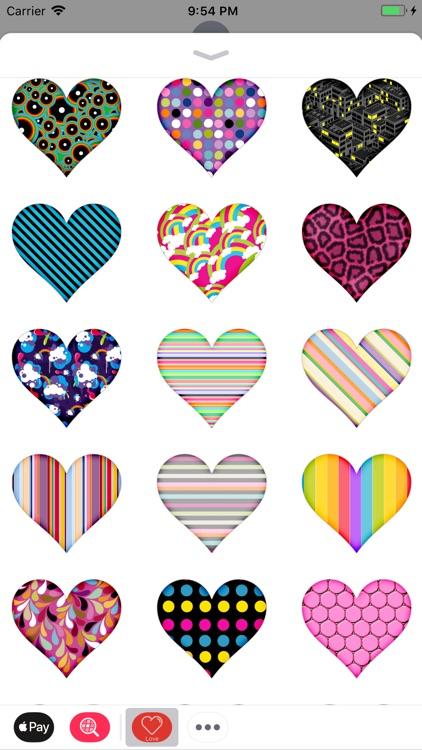 Hearts And Kisses Romantic