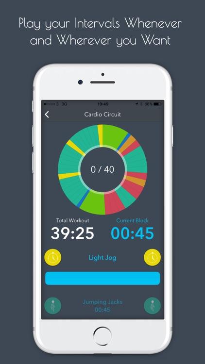 Flowfit Interval Workout screenshot-3