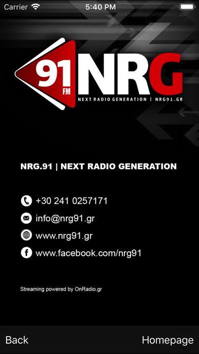 NRG 91 screenshot one