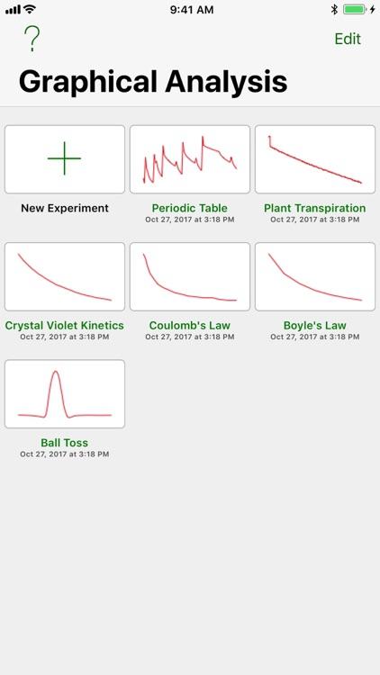 Vernier Graphical Analysis screenshot-3
