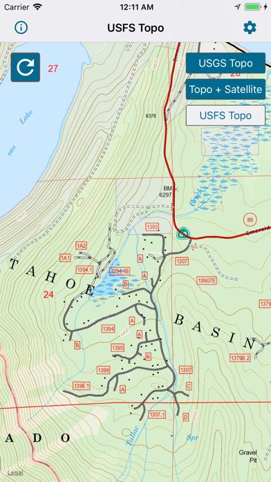 Topographic Maps & Trails screenshot 3