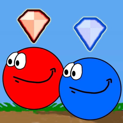 Red And Blue Balls iOS App
