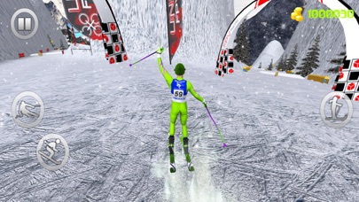 Snow Skiing Adventure 3D screenshot two