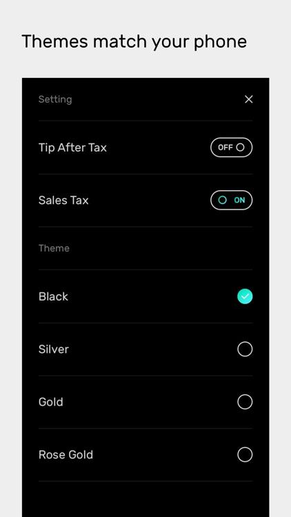 Obelus – Tip Calculator screenshot-4