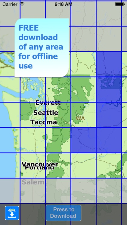 Aqua Map Washington Lakes screenshot-5