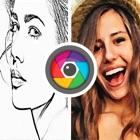 照片 铅笔 画画 草图 油 绘画 过滤器 icon