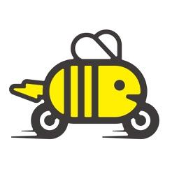 蜜蜂出行-自由取还的共享电动单车