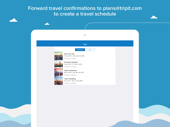 TripIt: Organize Travel Plans Screenshot