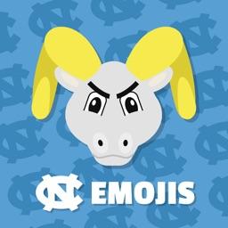 UNC Tar Heels Emojis