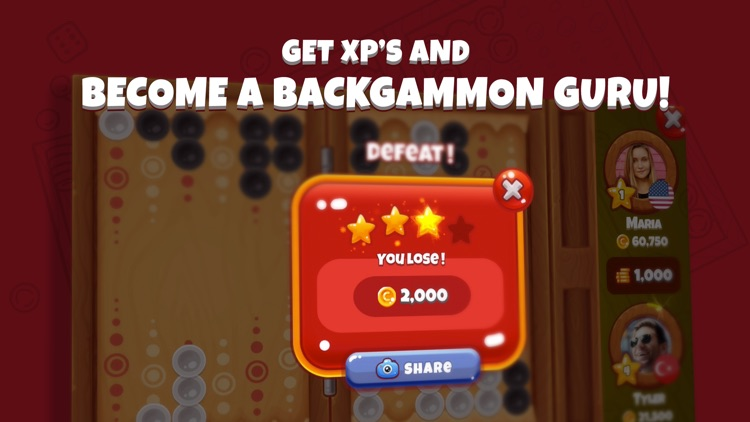 Next Backgammon, Multiplayer Backgammon Game screenshot-3