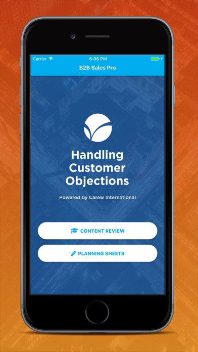 Handling Customer Objections Screenshots