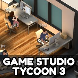 Ícone do app Game Studio Tycoon 3