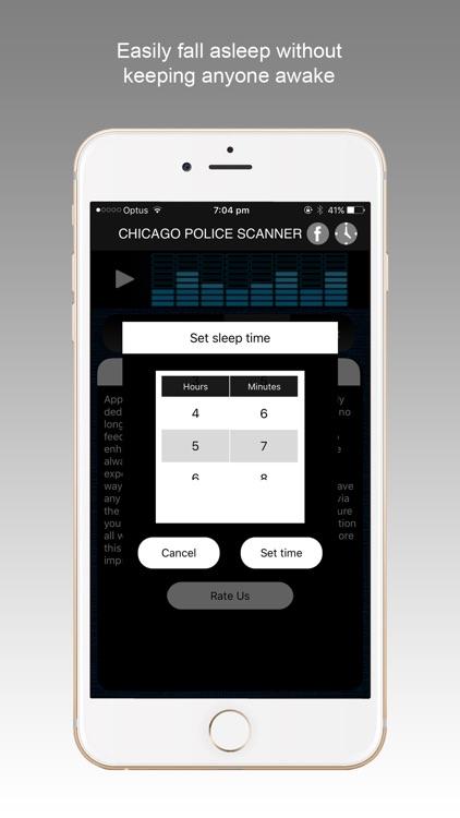 Chicago Police Scanner Radio screenshot-4