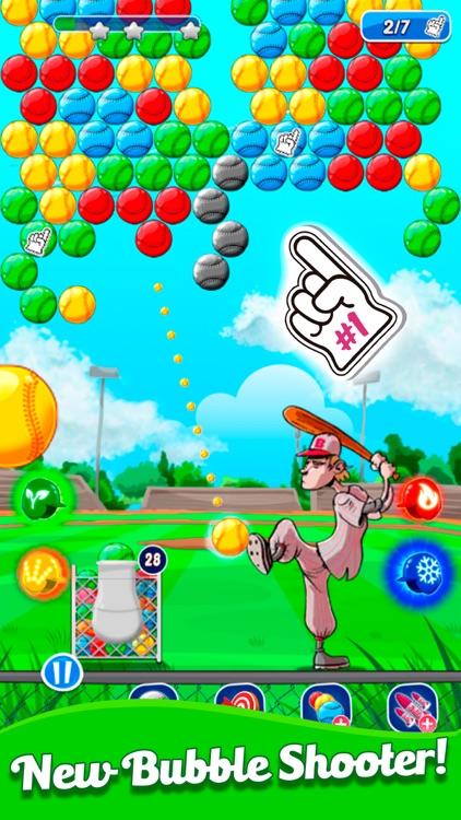 Baseball Bubble Shooter screenshot-0