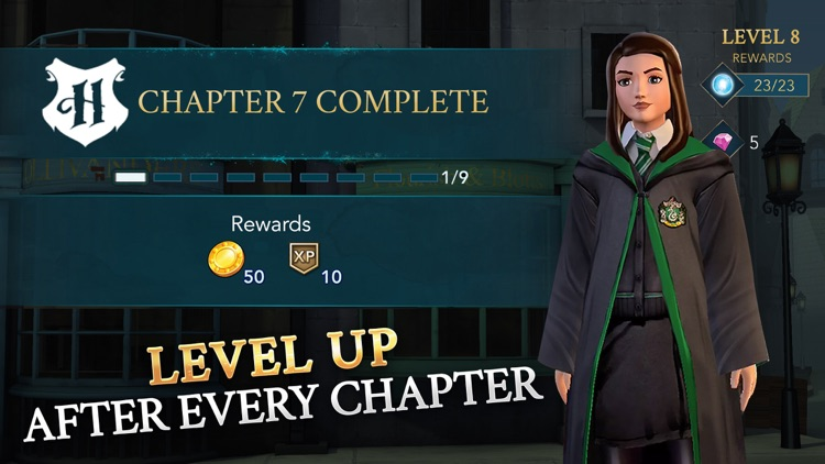 Harry Potter: Hogwarts Mystery screenshot-8