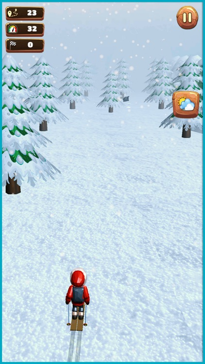Xtreme hill Skiing Stuntman screenshot-2